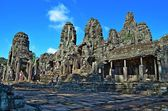 Ancient Cambodian temple — Stockfoto