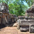 Antient cambodian temple — Stock Photo
