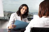 Nice job interview — Stock Photo