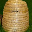 Stockfoto: Bee skep for honey production