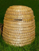 Bee skep for honey production — Stok fotoğraf