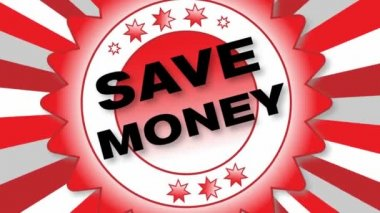 Ahorrar dinero — Vídeo de stock