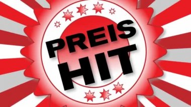 Preis hit — Stockvideo