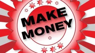 Geld verdienen — Stockvideo