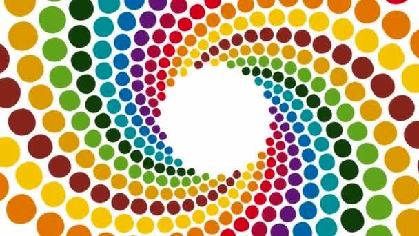 Patrón de colores — Vídeo de stock