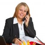 Friendly businesswoman — Stock Photo #5185805