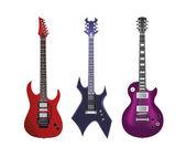 Guitar vector set — Stock Vector