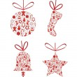 Vector de stock : Christmas collection