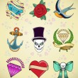 Royalty-Free Stock Vector Image: Tattoos