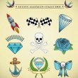Royalty-Free Stock Vector Image: Tattoo elements collection