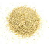 Soybean Meal Pile from Above — Stock Photo