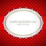 valentinky den vinobraní kartu vektorové pozadí eps 10 — Stock vektor #25447525