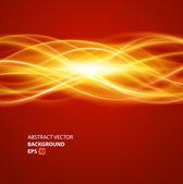 Abstratas coloridas luz suaves linhas vetoriais fundo. eps 10. — Vetorial Stock