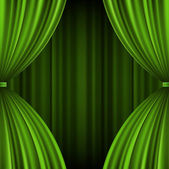 Theater Vorhang Vektor Hintergrund Eps 10. — Stockvektor