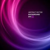 Abstrait torsion lisse lignes lumineuses vector background. eps 10. — Vecteur