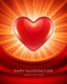 летающие сердца валентина вектор фон eps 10 — Cтоковый вектор