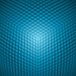 Explore cube background — Stockvektor