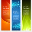 Abstract trendy vector banner vertical set eps 10 — Stock Vector #25575143