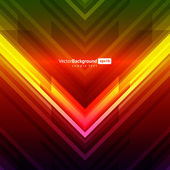 Abstract retro vector background. Eps 10 — Stock Vector