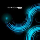 Abstratos tecnologia retro linhas de fundo vector. eps 10 — Vetorial Stock
