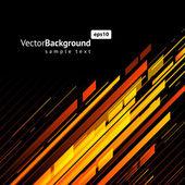 Abstracte technologie lijnen vector achtergrond. eps 10 — Stockvector