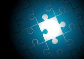 Vector puzzle background — Vettoriale Stock
