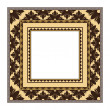 Retro greeting card frame with ornament. Vector background Eps 10. — Vektorgrafik