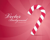 Christmas vector candy background — Stock Vector
