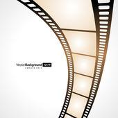 Film tape vector background. Eps 10. — Stock Vector