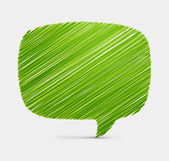 Hand draw speech bubble vector background. Eps 10, — Vecteur