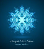 Snowflake vector background. Eps 10. — Stock Vector