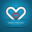 Christmas heart — Stock Vector #31924085