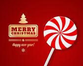 圣诞快乐新年快乐 — 图库矢量图片