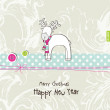 New year's card — Stock Vector #26118449