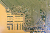 Printed-circuit board — Stock Photo