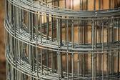 Steel mesh roll — Foto Stock