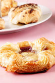 Danish pastry and some cake — Stock Photo