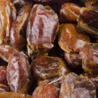 Stock Photo: Some sun dried pitted dates