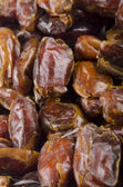Some sun dried pitted dates — Stock Photo