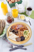 Breakfast in northern ireland ulster fry — Stock Photo