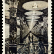 Vintage postage stamp. Kiev Station. — Stock Photo