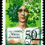 Vintage postage stamp. Matice Slovenska. — Stock Photo #14633463