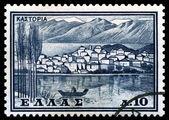 Vintage postage stamp. Castoria. — Stock Photo