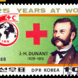 Vintage postage stamp. Doctor Dunant. — Stock Photo #14819765