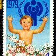 Vintage postage stamp. Child. — Stock Photo #16852439