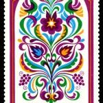 Vintage postage stamp. Ornament. 4. — Stock Photo #17381755