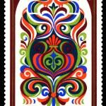 Vintage postage stamp. Ornament. 1. — Stock Photo #17381769