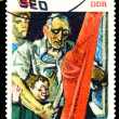 Stock Photo: Vintage postage stamp. Festivities.