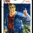 Vintage postage stamp. Worker. — Stock Photo