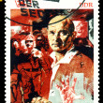Vintage postage stamp. Ernst Thalmann. — Stock Photo
